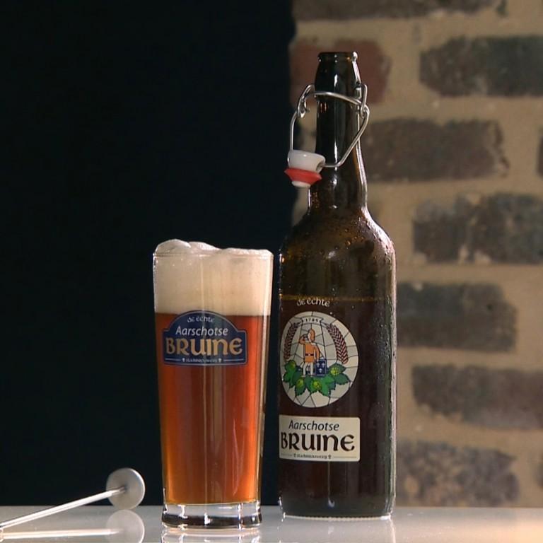 Aarschotse-Bruine-glas-fles